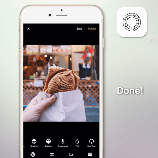 Learn about the VSCO photo-editing app in 90 seconds