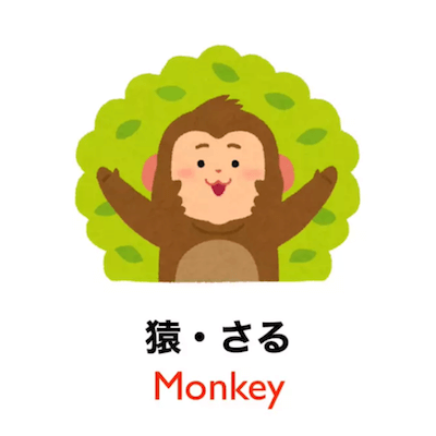 90 seconds to learn Japanese vocabulary - Theme: Animals!