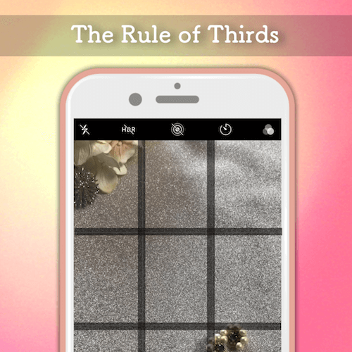 90 seconds to learn the rule of thirds to take photos