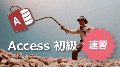 速習!Accessシステム作成「Access初級」【Access 2010版】