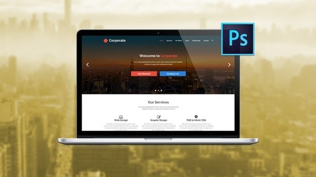 The Ultimate Web Designing Course in Photoshop