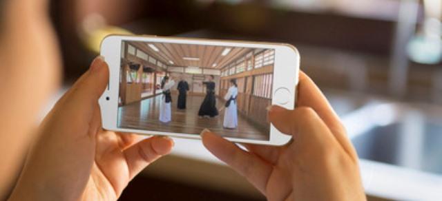 スマートフォンで視聴できる剣道講座