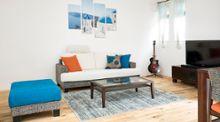 【インテリア実例】ギリシャ風コーディネートでリゾートを感じるお部屋