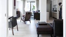 都会のリゾートを感じる、1LDKの家具・インテリアコーディネート