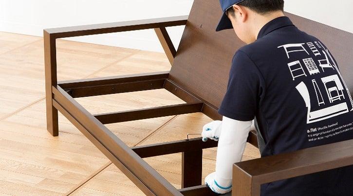 安心して長く使えるa.flatの組み立て家具とメンテナンス