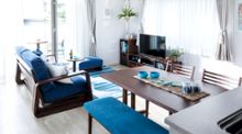 ブルーのインテリアの魅力『26部屋のインテリアコーディネート実例付き』