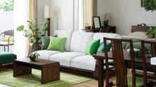 【一人暮らしの部屋】極上の安息へと誘うグリーンのヴィラ風インテリアコーディネート