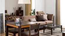 【一人暮らしの部屋】ブラウンの温もり感じるモダンアジアンインテリアコーディネート