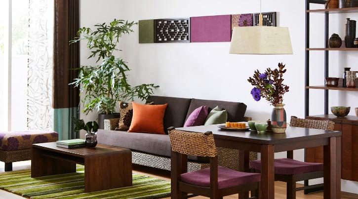 【一人暮らしの部屋】アジアンインテリアコーディネートで彩る特別な寛ぎがある暮らし
