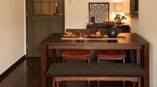 スマートで快適な暮らしを再現する、伸長式ダイニングテーブル特集