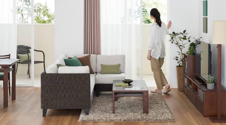 心地良く寛げるリビングづくりの為のソファ選びとレイアウト