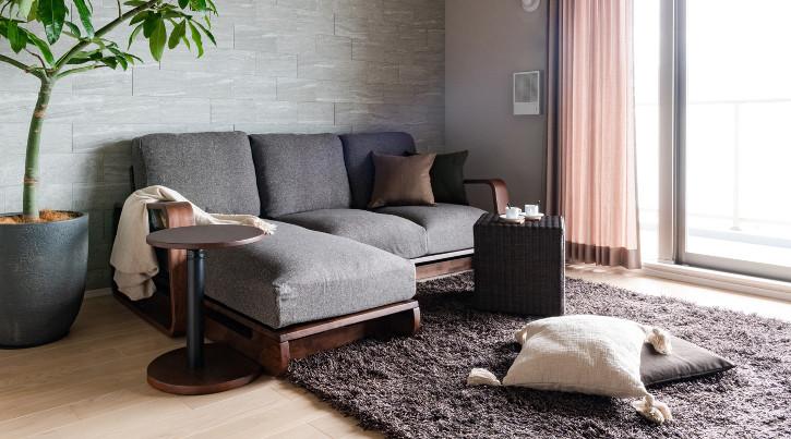 ソファを中心とした統一感のある家具・インテリア選び