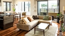 ソファとダイニングテーブルの統一感があるコーディネート・レイアウトのヒント