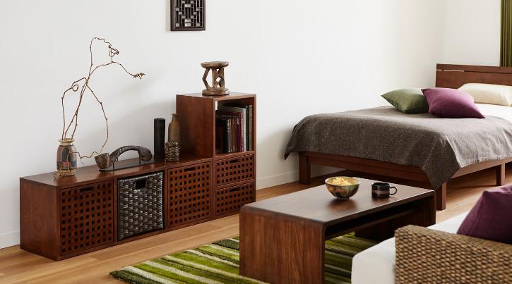 狭い部屋をスッキリ見せる収納家具の選び方・アイデア