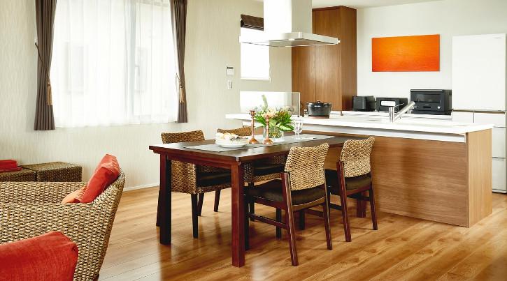 対面キッチンのレイアウトを快適でおしゃれに見せる方法 ~10畳・12畳・14畳・16畳~