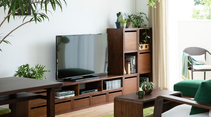無垢材が美しいおすすめテレビボード・厳選4シリーズ ~120・150・180・200cm~