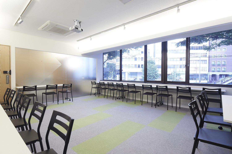 みんなの会議室 渋谷宮益坂2-1 | 端に寄せた時のレイアウト