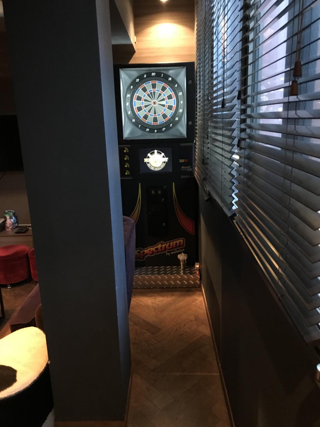 Lounge-R スペースB | ダーツはフリープレイで利用可|TIME SHARING|タイムシェアリング |スペースマネジメント|あどばる|adval