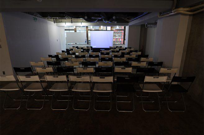 Creator's District神保町 | シアター形式では最大100名着席可能です