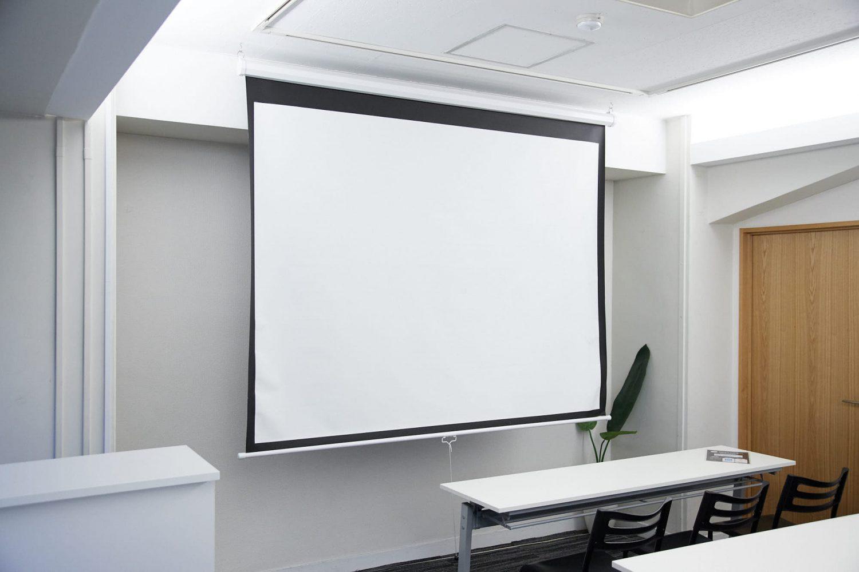 みんなの会議室 渋谷宮益坂2-1 | スクリーン