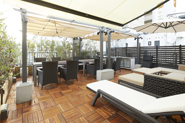 Lounge-R TERRACE 渋谷 | 屋上テラス|TIME SHARING|タイムシェアリング |スペースマネジメント|あどばる|adval
