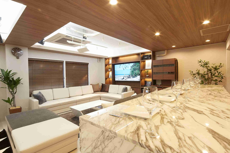 まるで高級ホテルのスイートルーム!?Lounge-R Premium|TIME SHARING|タイムシェアリング |スペースマネジメント|あどばる|adval|SHARING