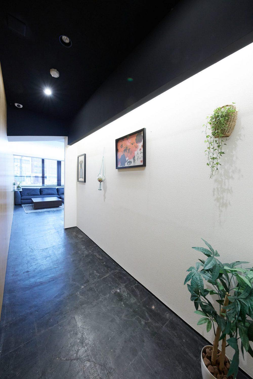 みんなの会議室 渋谷宮益坂2B | 会議室に通じる廊下部分|TIME SHARING|タイムシェアリング |スペースマネジメント|あどばる|adval