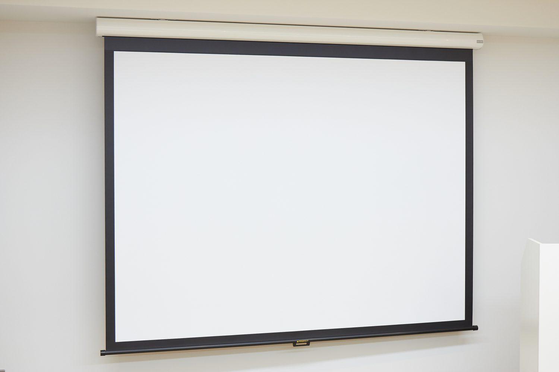 みんなの会議室 代々木7F | スクリーン|TIME SHARING|タイムシェアリング |スペースマネジメント|あどばる|adval