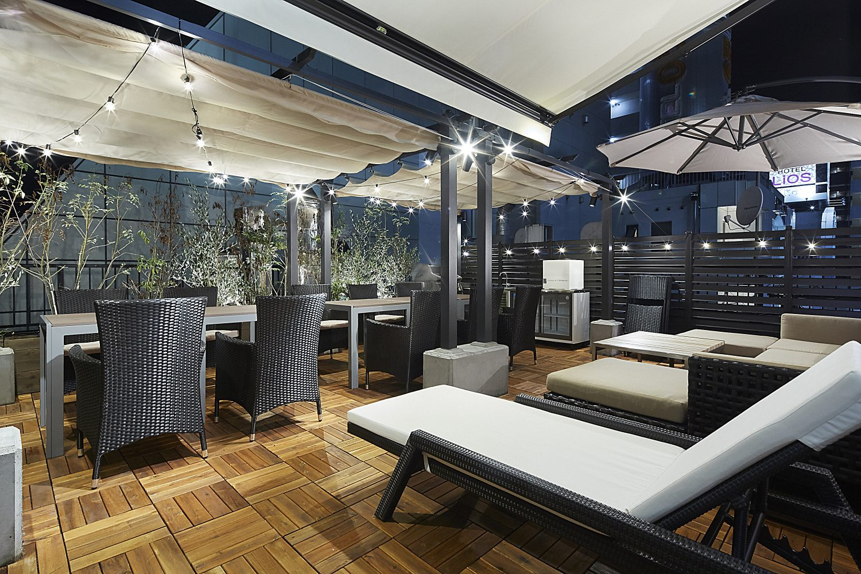 Lounge-R TERRACE 渋谷   開放感