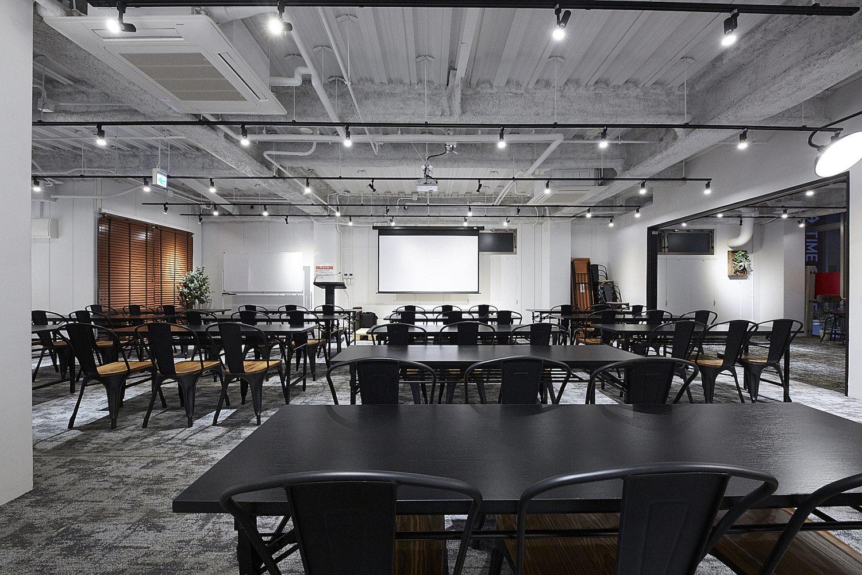 TIME SHARING五反田Ⅰ | いつもとは違う雰囲気での会議,セミナーや、半立食形式での懇親会にも最適です