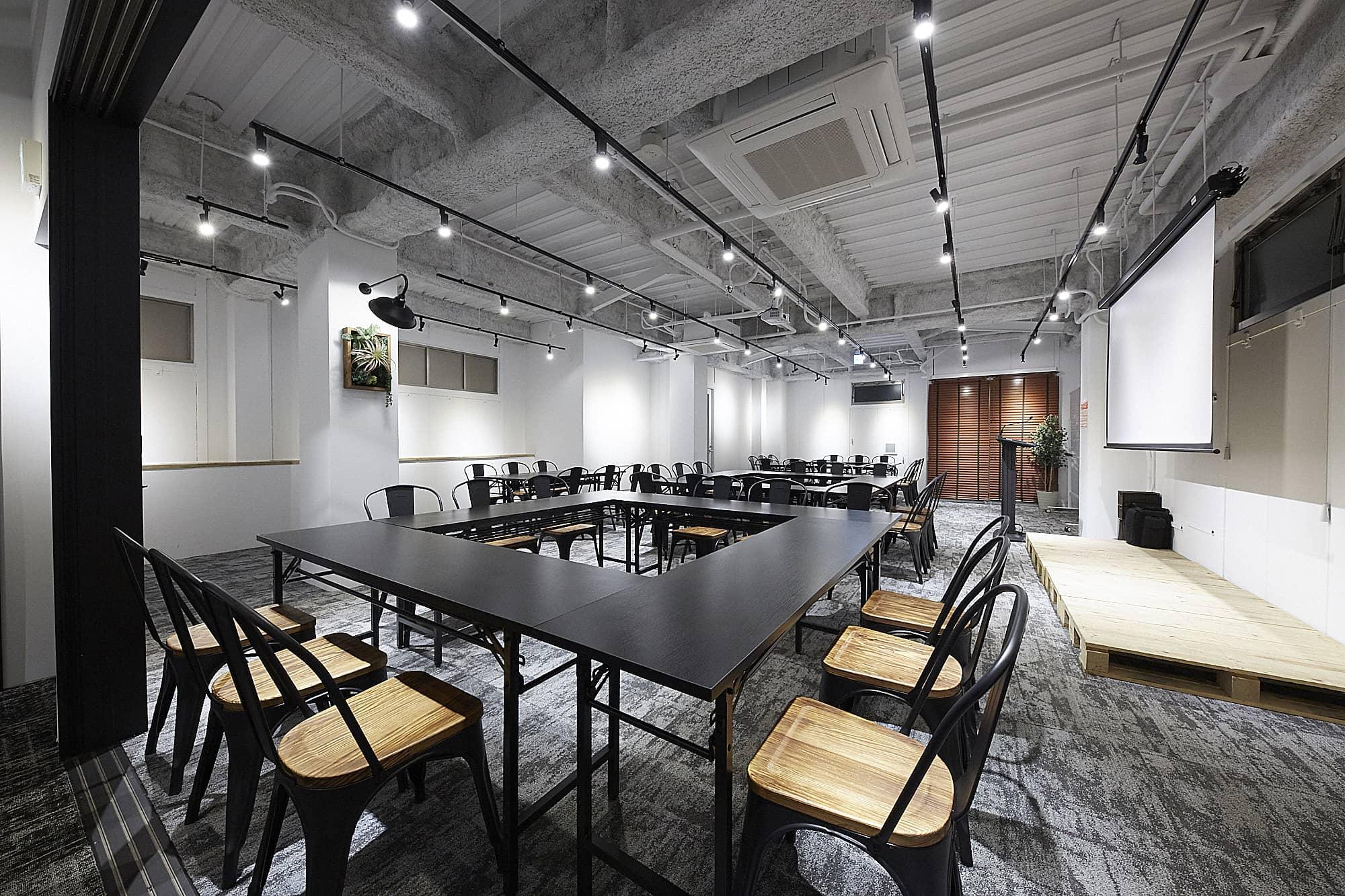 おしゃれ空間でいつもと違う会議を♪TIME SHARING五反田Ⅰ|TIME SHARING|タイムシェアリング |スペースマネジメント|あどばる|adval|SHARING