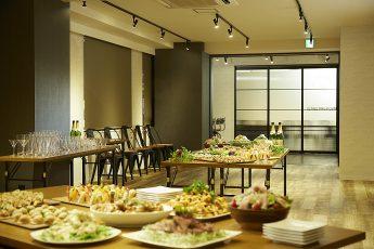 TIME SHARING渋谷宇田川町(タイムシェアリング) | 当社ケータリングサービス「みんなのシェフ」|TIME SHARING|タイムシェアリング|スペースマネジメント|あどばる|adval