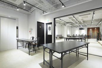 TIME SPACE五反田   Lounge+HALL:半立食形式