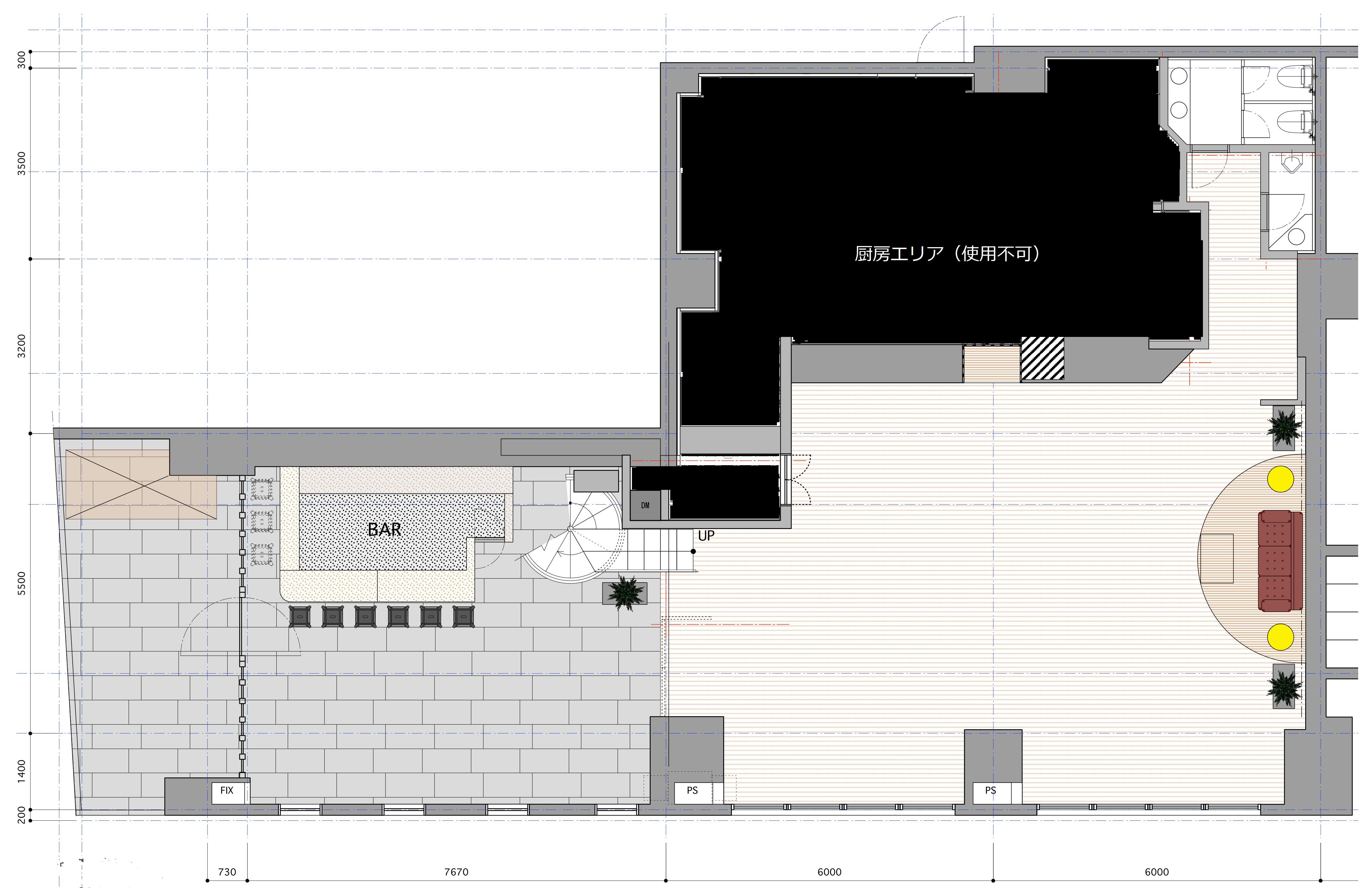 EBISU SHOW ROOM (ID:) 図面|TIME SHARING|タイムシェアリング |スペースマネジメント|あどばる|adval