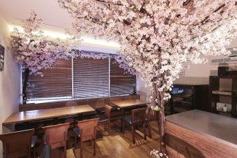 Mace西新宿-桜装飾1 | Mace西新宿-桜装飾1
