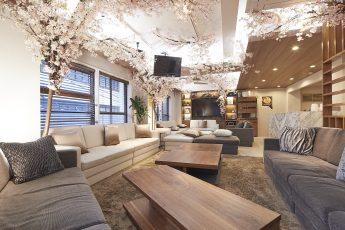 Lounge-R-Premium-桜装飾 | Lounge-R-Premium-桜装飾