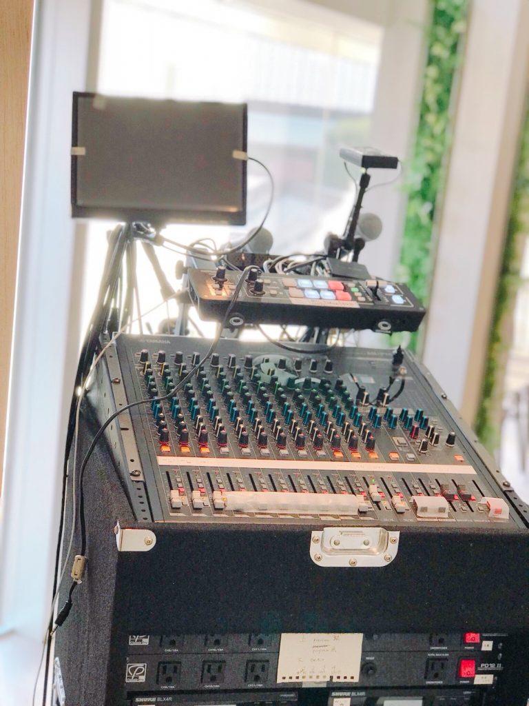 IROGAMI | 本格的な音響設備も