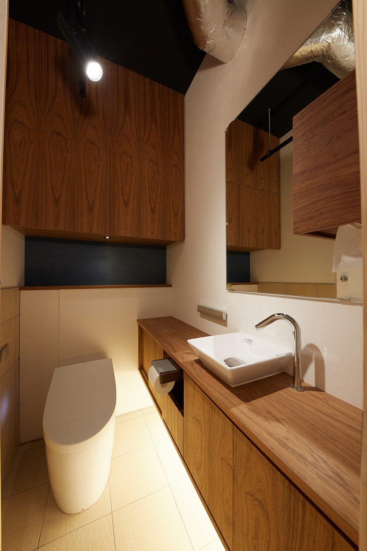 Akasaka Zen Space | お手洗いも綺麗です|TIME SHARING|タイムシェアリング |スペースマネジメント|あどばる|adval