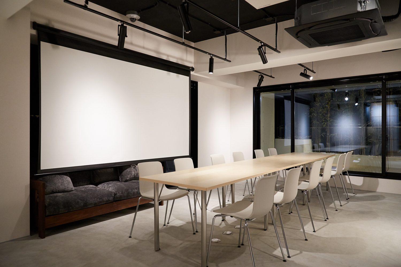 Akasaka Zen Space | スクリーン有り|TIME SHARING|タイムシェアリング |スペースマネジメント|あどばる|adval
