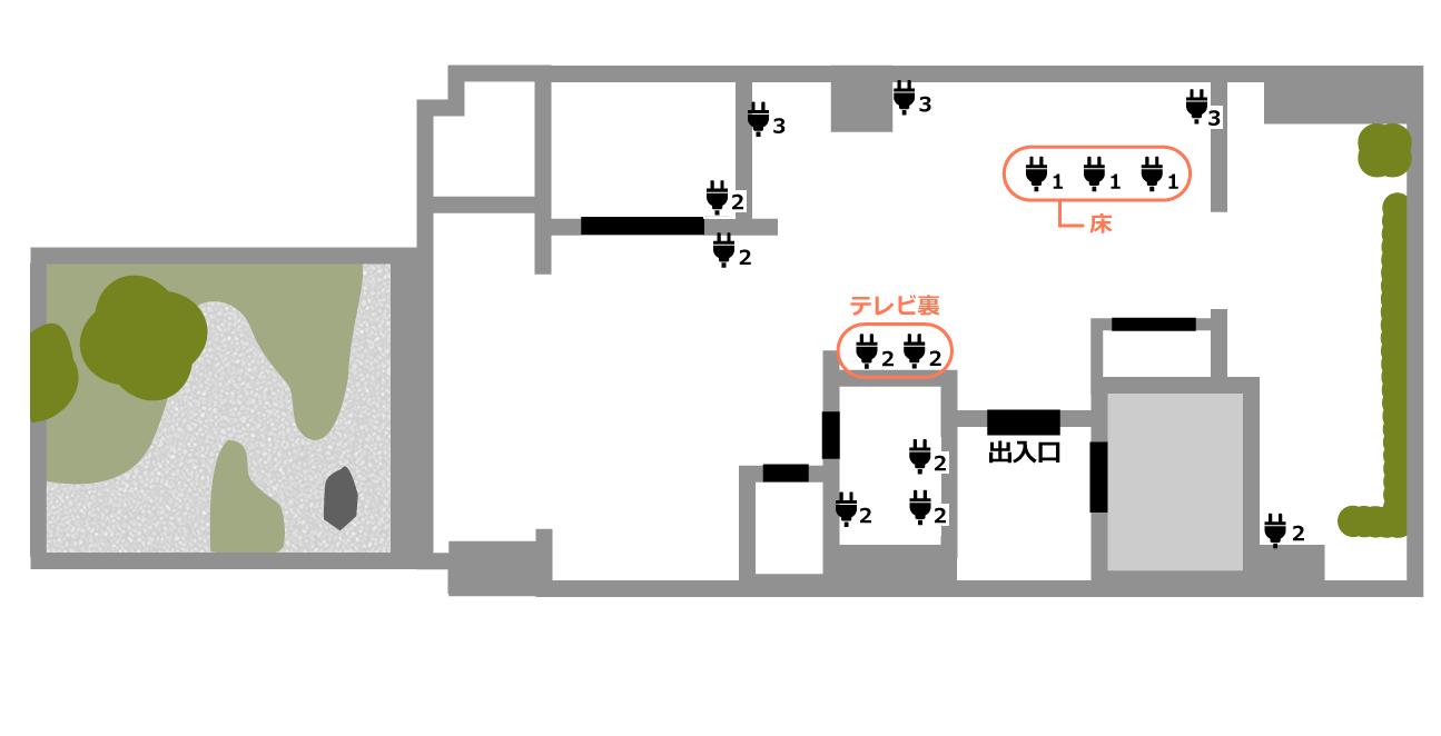 Akasaka Zen Space (ID:) 図面2|TIME SHARING|タイムシェアリング |スペースマネジメント|あどばる|adval