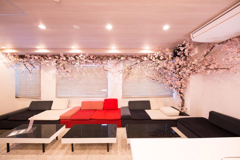 Lounge-R 渋谷 | ★3/15~4/30 期間限定で桜の装飾★