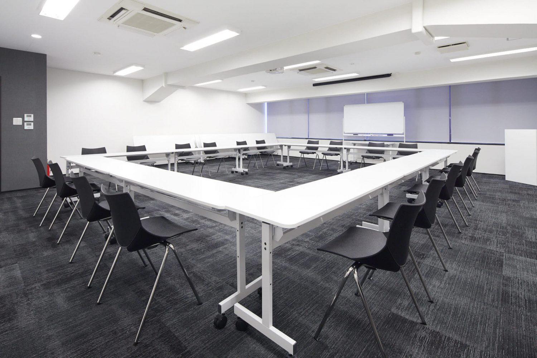 みんなの会議室 渋谷宮益坂3B | ロの字型|akibaco|あきばこ|スペースマネジメント|あどばる|adval
