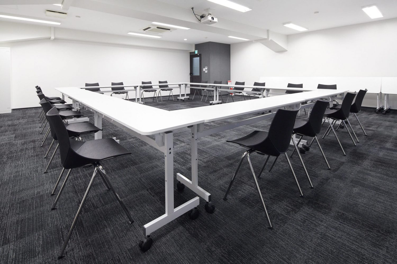 みんなの会議室 渋谷宮益坂3B | ロの字型|TIME SHARING|タイムシェアリング |スペースマネジメント|あどばる|adval
