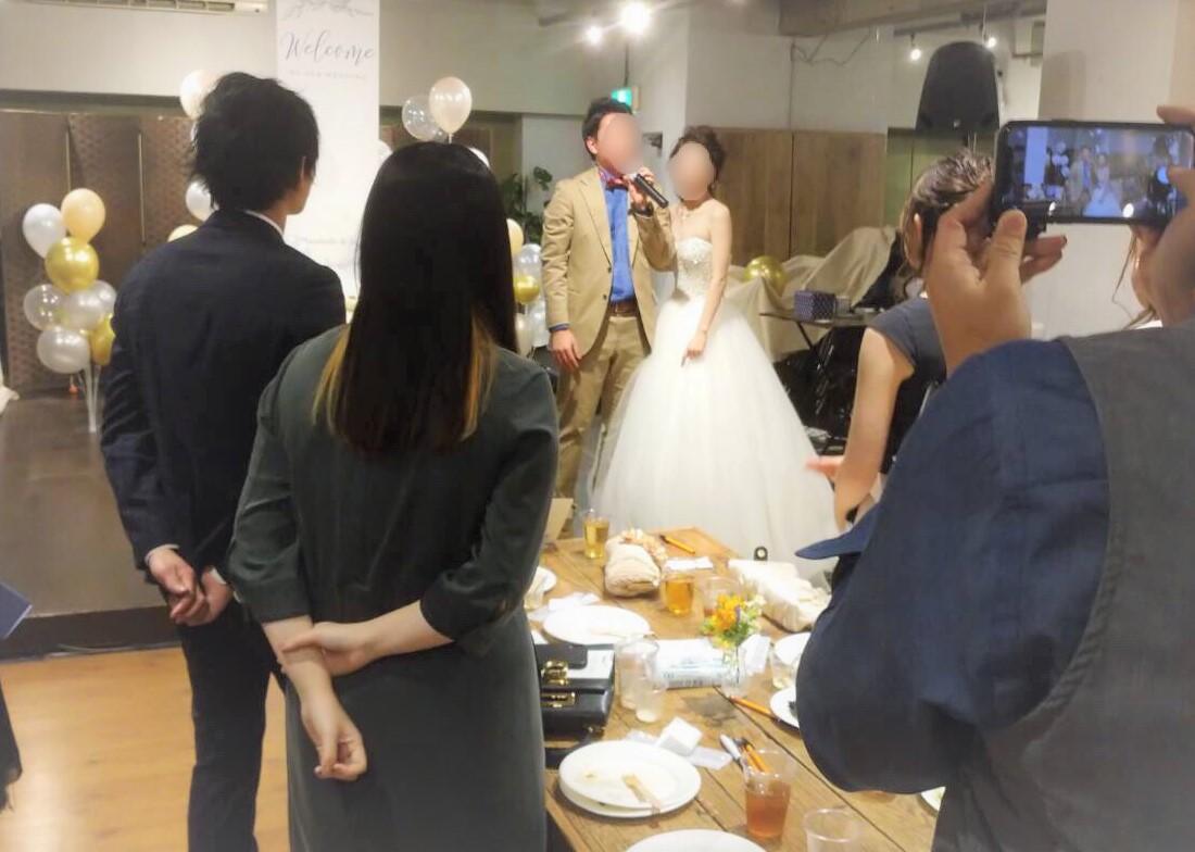 結婚式1.5次会パーティー@Mace千駄ヶ谷 TIME SHARING タイムシェアリング  スペースマネジメント あどばる adval SHARING