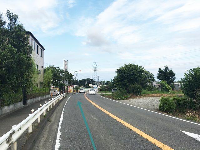 【道順1】県道47号線「寒川東中学入口交差点」から「東」にお進みください。