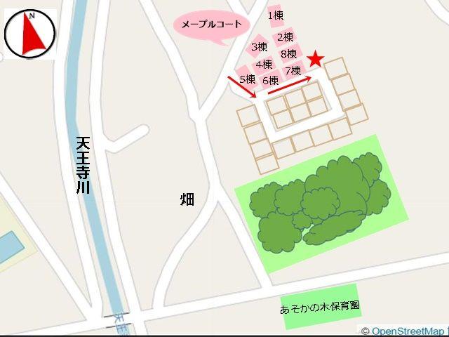 周辺の地図です。