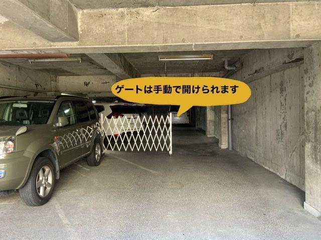 奥に進むとゲートがあり、開けて奥へ進みます