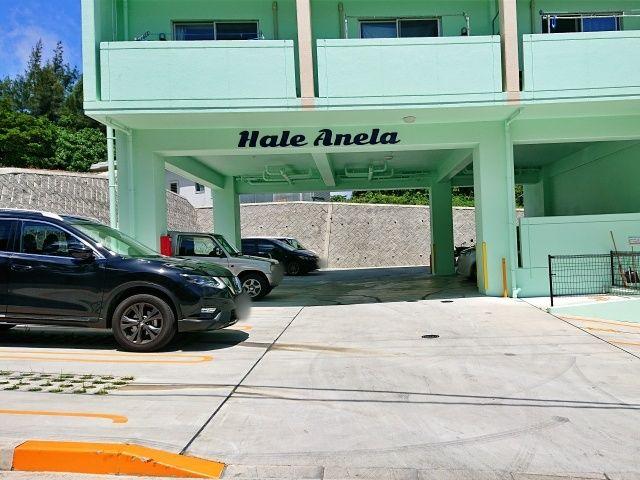 ハレアネラマンション駐車場