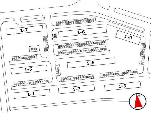 駐車場全体区画図