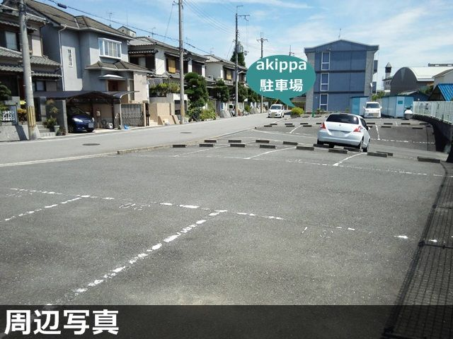 【予約制】akippa 富田林市錦織南1丁目26-23 レオパレスピュア 駐車場(09687)の写真URL1
